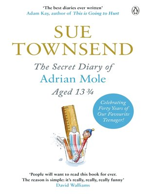 cover image of The Secret Diary of Adrian Mole Aged 13 3/4