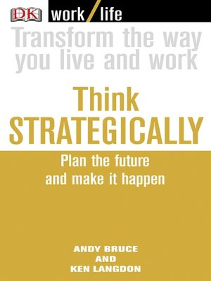 cover image of Work/Life: Think Strategically