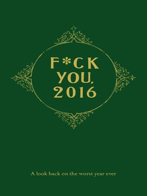 cover image of Fuck You, 2016