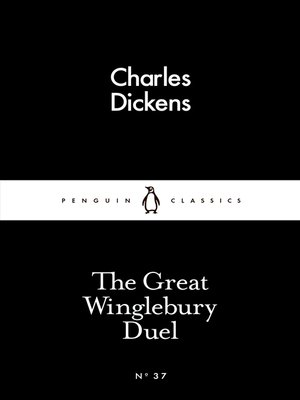 cover image of The Great Winglebury Duel
