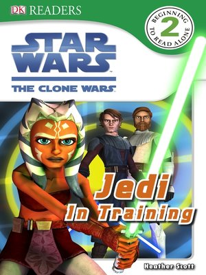 cover image of Star Wars: The Clone Wars: Jedi in Training
