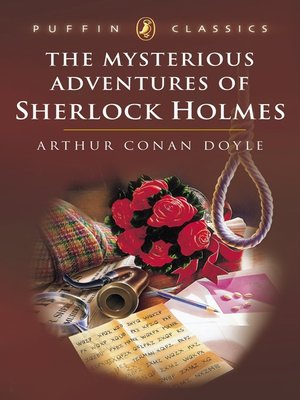 cover image of The Mysterious Adventures of Sherlock Holmes