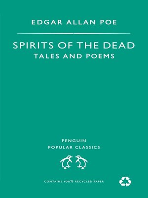 cover image of Spirits of the Dead
