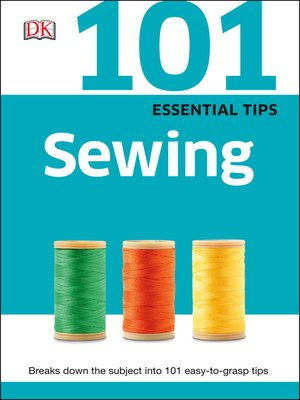 cover image of 101 Essential Tips Sewing