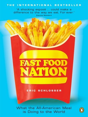 cover image of Fast Food Nation