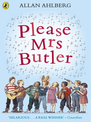 cover image of Please Mrs Butler
