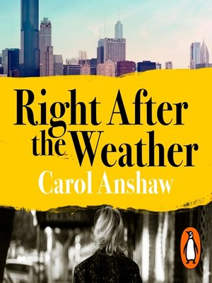 cover image of Right After the Weather