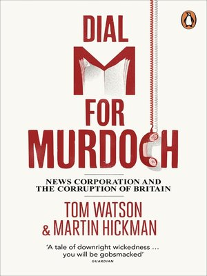 cover image of Dial M for Murdoch
