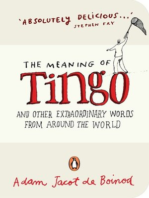 cover image of The Meaning of Tingo