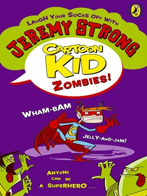 cover image of Cartoon Kid--Zombies!