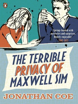 cover image of The Terrible Privacy of Maxwell Sim