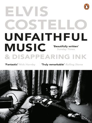 cover image of Unfaithful Music and Disappearing Ink