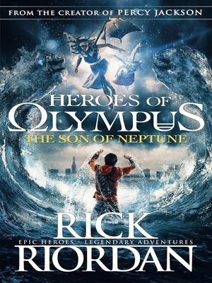cover image of The Son of Neptune