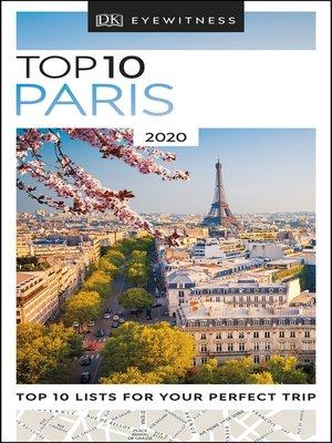cover image of DK Eyewitness Top 10 Paris