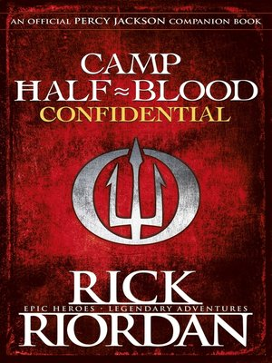 cover image of Camp Half-Blood Confidential
