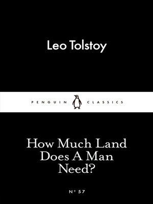 cover image of How Much Land Does a Man Need?