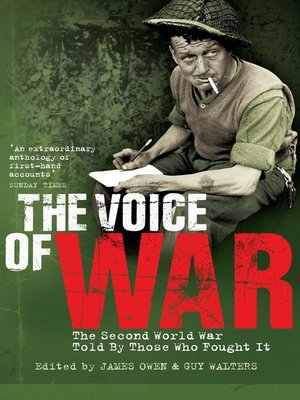 cover image of The Voice of War
