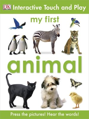 cover image of My First Animal