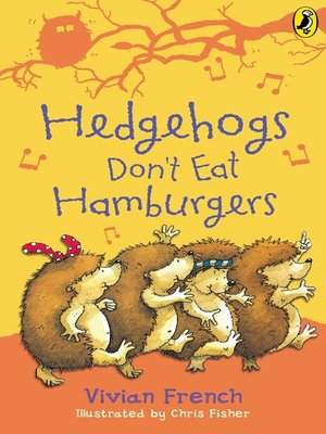 cover image of Hedgehogs Don't Eat Hamburgers