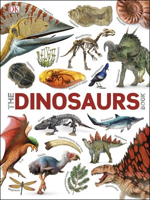 cover image of The Dinosaurs Book