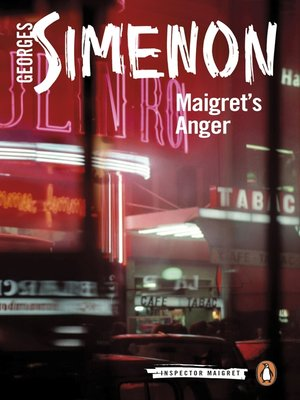 cover image of Maigret's Anger