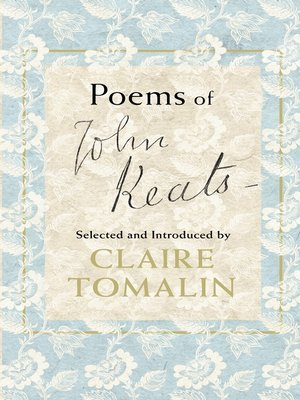 cover image of Poems of John Keats
