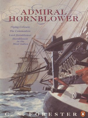 cover image of Admiral Hornblower