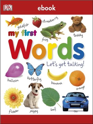 cover image of My First Words Let's Get Talking