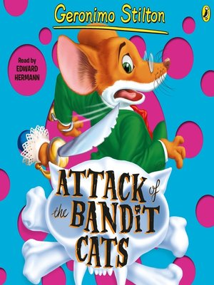 cover image of Attack of the Bandit Cats (#8)