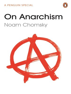 cover image of On Anarchism