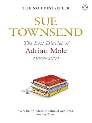 cover image of The Lost Diaries of Adrian Mole, 1999-2001