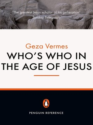 cover image of Who's Who in the Age of Jesus