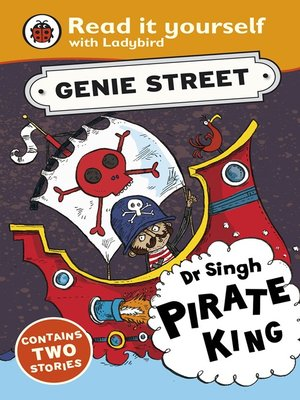 cover image of Dr Singh, Pirate King:   Genie Street