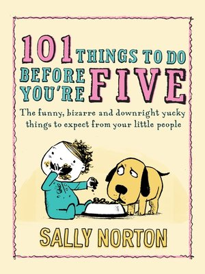 cover image of 101 Things to Do Before You're Five