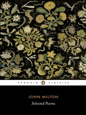 cover image of Selected Poems:  Milton