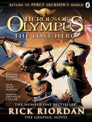 cover image of The Lost Hero: The Graphic Novel