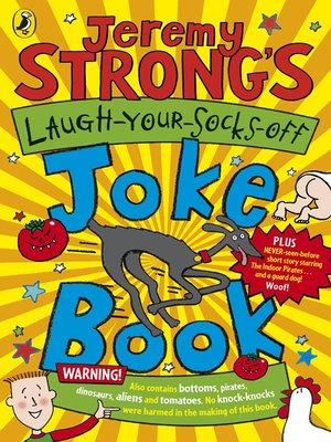 cover image of Jeremy Strong's Laugh-Your-Socks-Off Joke Book