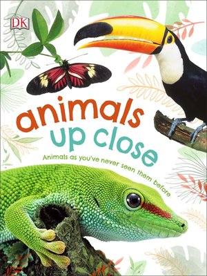 cover image of Animals Up Close