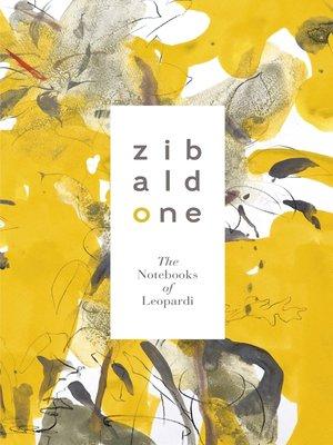 cover image of Zibaldone