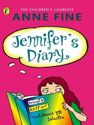 cover image of Jennifer's Diary