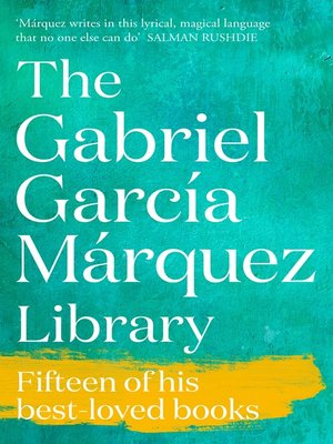 cover image of Gabriel Garcia Marquez Ebook Library