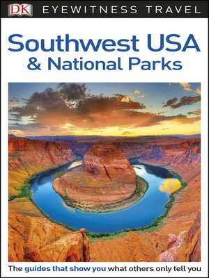 cover image of DK Eyewitness Travel Guide Southwest USA and National Parks