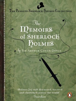 cover image of The Memoirs of Sherlock Holmes