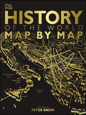 cover image of History of the World Map by Map