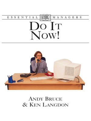 cover image of Do it Now!
