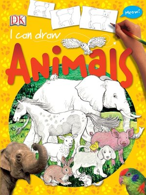 cover image of I Can Draw Animals