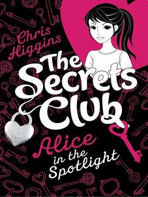 cover image of Alice in the Spotlight