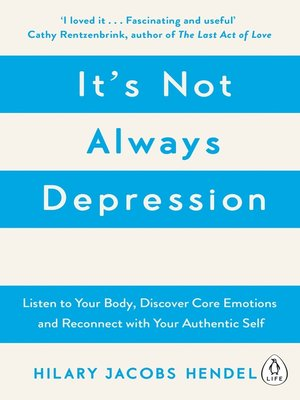 cover image of It's Not Always Depression