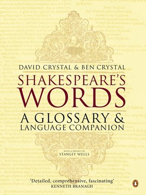 cover image of Shakespeare's Words