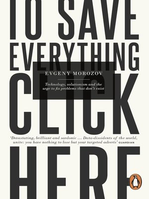 cover image of To Save Everything, Click Here